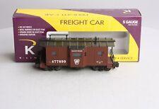 K-Line K511-023 S Gauge Pennsylvania Caboose LN/Box