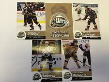 2015-16 Charlottetown Islanders Hockey Card Collection SET