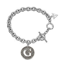 Guess Damen Armband UBB51429 rhodiniert poliert mit Stein neu