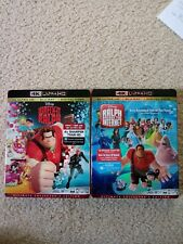 Wreck It Ralph and Ralph Breaks the Internet 4K/Blurays