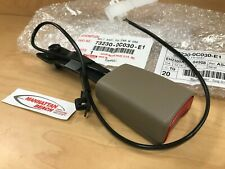 00 04 Tundra Front Driver Seat Belt Buckle 73230 0c030 E1 Tan Fits Toyota