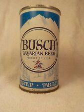 Busch Tab Top Fan Tab St Louis Straight Steel Old Beer Can