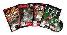 4 Zeck DVDs Wallerangeln - Zeck Cat Voyage + Zeck New Age Trilogie Welsangeln