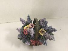 Pansie Lena Liu Basket Bouquet Collection Ardleigh Elliott Music Box Beautiful