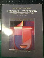 Abnormal Psychology: Current Perspectives: Study Guide by Joan Acocella, et al