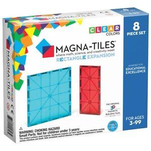Magna-Tiles Rectangle Expansion Set - 8 Piece Set