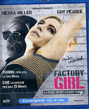 FACTORY GIRL con Sienna Miller, Guy Pearce - BLU-RAY NUOVO