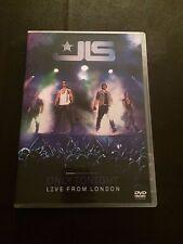 JLS - Only Tonight - Live In London (DVD, 2010) region free uk dvd