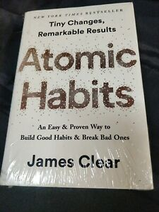 Atomic Habits Hardcover Book by James Clear Free Shipping Worldwide