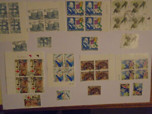 Italy commems blocks/singles sets? collection 12
