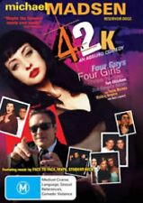42K - MICHAEL MADSEN - TRACY PHILLIPS - DVD - BRAND NEW SEALED FREE POST