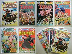 Tarzan #220 241 243 252 255 $31.00 LOT of 6 (1973-up, DC) Weird Worlds #4 KALUTA
