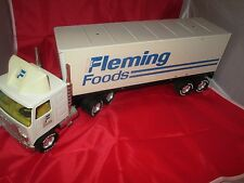 Fleming Foods 80s 1/16th scale Semi Truck & Trailer Nylint Vtg 18 wheeler