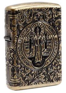 Zippo Windproof Armor St. Benedict Lighter, Constantine, 29719 New In Box