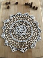 12Pcs/Lot Vintage Hand Crochet Lace Doilies Coasters Cotton 25cm Item6