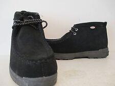 Lugz Mens Frontier Moc Durabrush Casual Fashion Boots Black/Charcoal Size 9