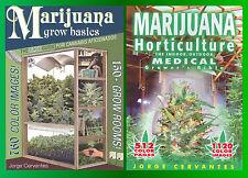 Jorge Cervantes Marijuana Horticulture 2 Book Set!