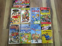 Super Famicom Lot of 9 piece Furai no Jiren Mario Kart Complete SFC SNES T783
