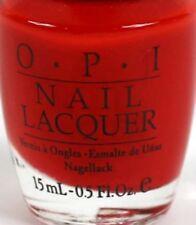 OPI Nail Daytona Red NL L68 Nail Polish RARE Retired Time Capsule Release
