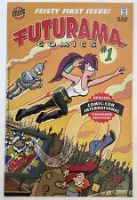 FUTURAMA COMICS #1 SDCC VARIANT COVER 1/1000 COMIC CON BONGO COMICS NM- 9.2