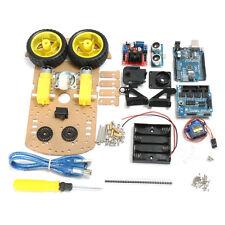 DIY L298N 2WD Ultrasonic Smart Tracking Moteur Robot Car Kit For Arduino