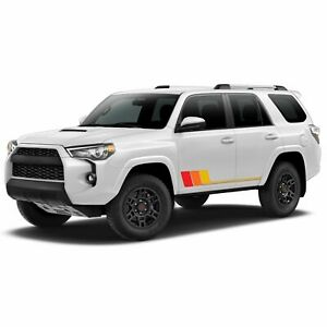 Retro Stripes for 4Runner Toyota Decal 2017 2018 2019 2020 2021 5th generation