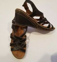 Natural Soul By NATURALIZER Wedge Sandals Size 9M