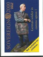 Sovereign 2000 German Soldier dans Camouflage APRON 1 ww2 1/35 Kit