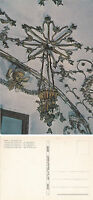 THE CHANDELIER CEMETERY OF THE CAPUCHIN ROME ITALY UNUSED COLOUR POSTCARD