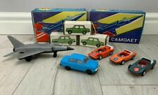 USSR Toy Box with Soviet Cars, MIG28, Soviet Toys, Soviet Car ZAZ, USSR Gift Box