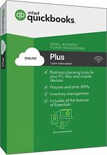 QuickBooks Online Plus 2017 up to 5 users--Send us a message for price