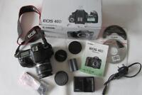 Canon EOS 40D 10MP Digital-SLR DSLR Camera +EF-S 18-55mm Lens - BOXED