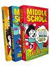 Middle School Madness James Patterson 3 Books Kids Children Fiction No 4 5 6 New