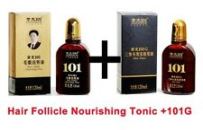 Zhangguang 101 Hair Follicle Nourishing Tonic + 101 G Hair growth sets 2 bottles