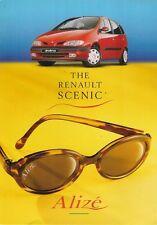 Renault Megane Scenic RT Alize 1.6 1998 UK Market Foldout Sales Brochure