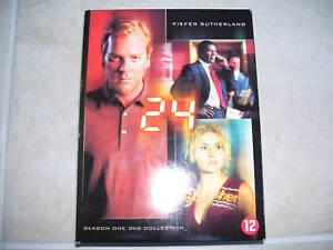 24 Twenty Four Season One DVD COLLECTION ( 6 DVD box )