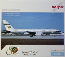 """Herpa 510103 Boeing 757-200 Avianca """"80 Anos"""""""