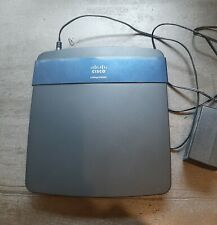 Cisco Linksys E3200 4-Port Gigabit Dual-Band Wireless N Router 300Mbps USB