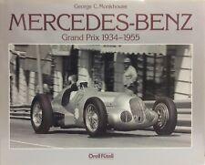 Mercedes-Benz Grand Prix Racing, 1934-1955 - G.C.Monkhouse -Ed.Orell Füssli-auto