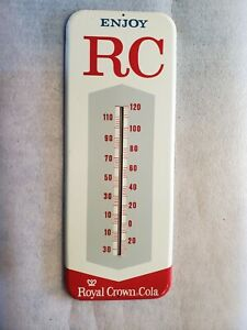 VINTAGE RC ROYAL CROWN ADVERTISING THERMOMETER #512 NICE!