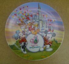 Walt Disney World 20 Magical Years Anniversary Plate 1971-1991 - Perfect
