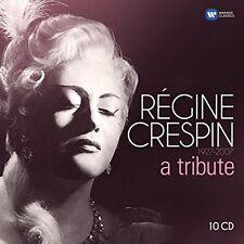 REGINE CRESPIN: A TRIBUTE - CRESPIN,REGINE/PRETRE,G./PLASSON,M./+  10 CD NEU