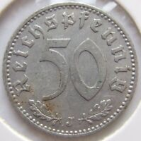Top! 50 Reichspfennig 1939 J IN Very fine / Extremely fine