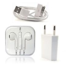 iPhone 4/4s Kabel + Earpods + Netzteil