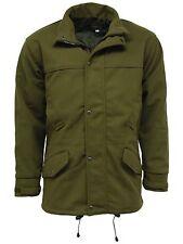 Mens Stormkloth Waterproof Moss Olive Green Hooded Hunting Shooting Jacket