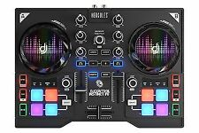 Hercules DJControl Instinct P8 Ultra-mobile USB DJ Controller With 8 Sample and