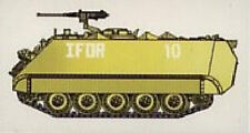 Char US. M113A1/ACAV - US ARMY IFOR - EASY MODEL 1/72 n° 035009