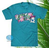 New Hawaiian Punch Mens Floral Blue Vintage Classic T-Shirt