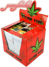More details for  roach tips 100 booklets {full box} bargain 5000x filter tips smoking tips