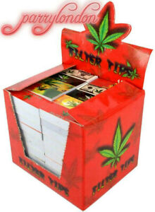 ROACH TIPS 100 BOOKLETS {FULL BOX} BARGAIN 5000X FILTER TIPS SMOKING tips